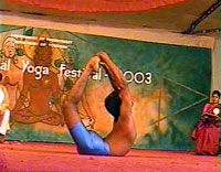 Yoga Festival - shot from the film