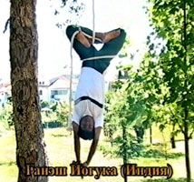 mallakhamb - yoga on rope